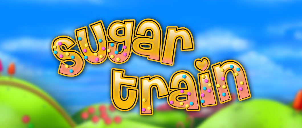 Sugar Train Slot Logo Mega Reel